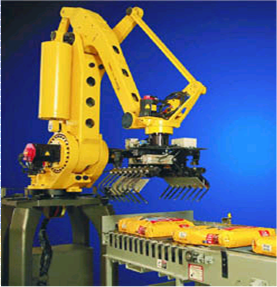 robotic bag palletizer for petfood